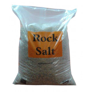 25 kg Brown De-icing Rock Salt