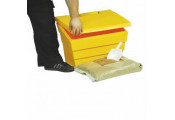 2 Cu Ft Grit Bin Winter Pack - 50 Litre / 50 kg capacity