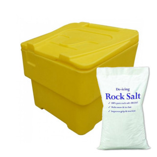2 Cu Ft Grit Bin Winter Pack - 60 Litre / 65 kg capacity