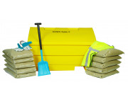 12 Cu Ft Grit Bin Winter Pack - 350 Litre / 350 kg capacity