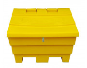 6 Cu Ft Grit Bin Lockable - 175 Litre / 175 kg capacity