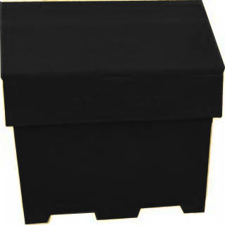 6 Cu Ft Recycled Grit Bin - 169 Litre / 169 kg capacity