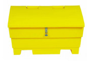 12 Cu Ft Grit Bin Lockable - 350 Litre / 350 kg capacity