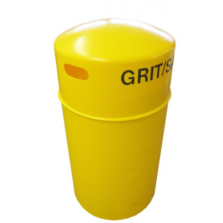 3 Cu Ft Slimline Hooded Grit Bin - 90 Litre / 90 kg Capacity
