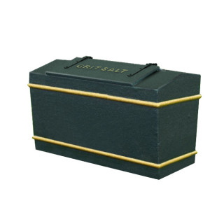 17 Cu Ft Victoriana Heavy Duty Glass Fibre Composite Grit Bin - 476 Litre / 476 kg Capacity