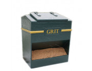 8 Cu Ft Victoriana Heavy Duty Glass Fibre Composite Grit Bin - 224 Litre / 224 kg Capacity