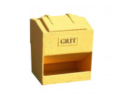 8 Cu Ft Heavy Duty Glass Fibre Composite Grit Bin - 224 Litre / 224 kg Capacity