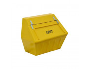 6 Cu Ft Heavy Duty Glass Fibre Grit Bin - 168 Litre / 168 kg Capacity