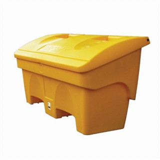 Small 200 Litre Yellow Grit Salt Bin