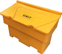 7 Cu Ft Stackable Grit Bin - 200 Litre / 250kg Capacity